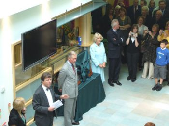 Princes of Wales opening Culm Valley Integrated Centre for Health, Devon