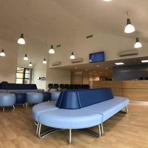 Kibworth Medical Centre - Patient waiting area