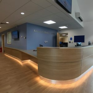 Kibworth Medical Centre - Reception desk