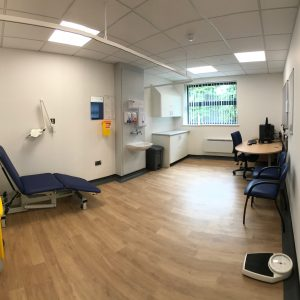 Kibworth Medical Centre - Consulting room
