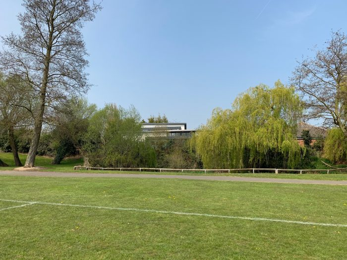 View from Symingtons Recreational Ground